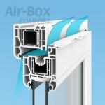 Air-Box comfort gaisa vārsts
